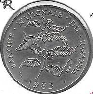 *rwanda 10 Francs 1985  Km 14.2   UNC - Rwanda