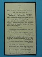 Marie De Decker épse Petre Bruxelles 1876 Woluwe-St-Lambert 1937 - Devotion Images