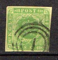 DANEMARK ( POSTE ) : Y&T N°  5  TIMBRE  BIEN  OBLITERE . - 1851-63 (Frederik VII)