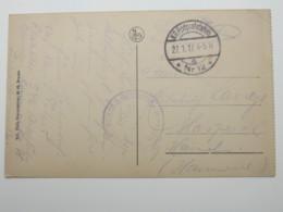 1917 , OSTENDE - Flak  Schule , Carte Postale Militaire , - Army: German