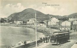 WW MALAGA. La Caleta Desde Bellavista Train Tramway - Málaga