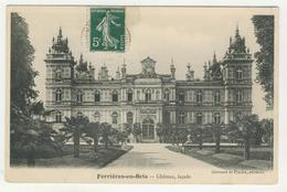 77 - Ferrières-en-Brie       Château, Façade - Other Municipalities