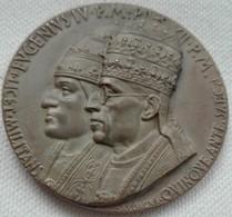 Medaglia Medal 1946 V Centenario Canonizzazione San Nicola Da Tolentino Mm.50 - 500 Years St Nicholas From Tolentino - Italia