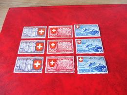 Schweiz Mi.Nr. 335 - 343** - Ungebraucht