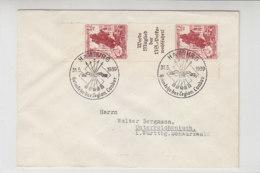 Brief Mit S 254 Randstück Aus HAMBURG 31.5.39 Heimkehr Der Legion Condor SST - Deutschland