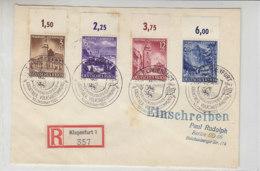 R-Brief Mit 806/9 OR  Aus KLAGENFURT 10.10.41 Sonderstempel - Deutschland