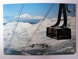 FRANCE - SAVOIE - VAL THORENS - Téléférique De La Cîme Caron - 1983 - Val Thorens