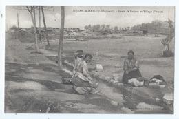 Cpa -   Dpt  -  Gard -  St- Jean De Maruejols   -  - Route De Barjac    -  (  Selection  )     Rare  1919 - Frankreich