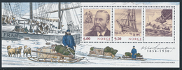 NORWAY/NORGE 2004 Otto Sverdrup Expedition & Vessel Fram, Souvenir Sheet** - Blocchi & Foglietti