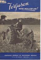 FERGUSON Votre Meilleur Ami  ( Tracteur ) - Publicités