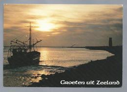 NL.- GROETEN UIT ZEELAND. Logger - Gruss Aus.../ Gruesse Aus...