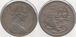 Australia 20 Cents 1969 KM#66 - Used - Moneta Decimale (1966-...)