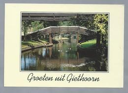 NL.- GROETEN UIT GIETHOORN. - Gruss Aus.../ Gruesse Aus...