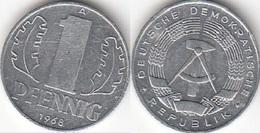 Germania DDR 1 Pfennig 1968 Large Design KM#8.1 - Used - [ 6] 1949-1990 : RDA - Rep. Dem. Tedesca