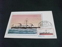 NAVE SHIP CORAZZATA DANDOLO MAXIMUM N° 296 - Guerra