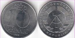 Germania DDR 10 Pfennig 1988 KM#10 - Used - 10 Pfennig