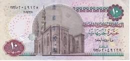 BILLETE DE EGIPTO DE 10 POUNDS  (BANKNOTE) - Egypte