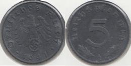 Germania Terzo Reich 5 Reichspfennig 1941A Km#100 - Used - [ 4] 1933-1945 : Troisième Reich