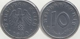 Germania Terzo Reich 10 Reichspfennig 1943A Km#101 - Used - [ 4] 1933-1945 : Troisième Reich