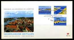 E00806)Niederl. Antillen FDC 292/294 - Antilles