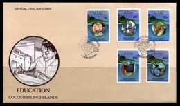 E01292)Kokosinseln FDC 294/8 Bildung - Kokosinseln (Keeling Islands)