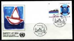 E01956)Österreich UNO Wien FDC 30/1 - FDC