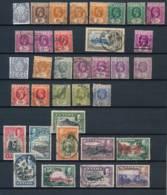 CEYLON, 1912-30s George V Collection With 1935 To 1Rupee, Cat £53 - Ceylon (...-1947)