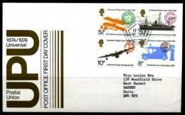 E02168)Grossbritannien FDC 650/3 - 1971-1980 Dezimalausgaben