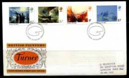 E02169)Grossbritannien FDC 669/72 - 1971-1980 Dezimalausgaben