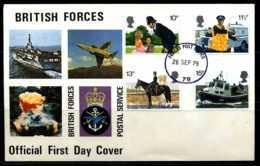 E02172)Grossbritannien FDC 808/11 - 1971-1980 Dezimalausgaben