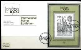 E02174)Grossbritannien FDC Block 3 - 1971-1980 Dezimalausgaben