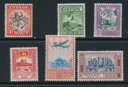 CEYLON, 1950 Set, Cat £15 - Ceylon (...-1947)