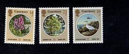 689151496  GUERNSEY 1986 POSTFRIS MINT NEVER HINGED POSTFRISCH EINWANDFREI SCOTT 321 323 EUROPA ISSUE - Guernesey