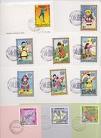 MONGOLIE - MONGOLIA - Lot De 11 Cartes Et Enveloppes Premier Jour - FDC - Issue - First Day Covers - Mongolie