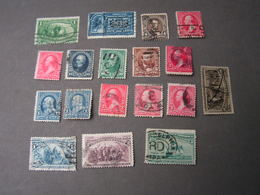 USA Nice Lot , Very Old - 1847-99 Unionsausgaben
