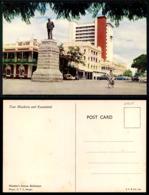 EC [00101] - RHODESIA ZIMBABWE - RHODE STATUE, BULAWAYO OLD CARS AUTOMOBILES VOITURES - Zimbabwe
