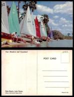EC [00127] - RHODESIA ZIMBABWE-PALM BEACH, LAKE NYASA- OLD SAIL BOAT - Zimbabwe