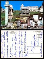 EC [00148]- BRAZIL- SAVADOR- ELEVADOR LACERDA E A FONTE DA RAMPA DO MERCADO- OLD CARS AUTOMOBILES VOITURES - Salvador De Bahia