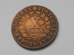 PORTUGAL X , 10 Reis 1765 - Josephus 1 Er Dei Gratia  **** EN ACHAT IMMEDIAT **** - Portugal