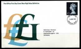 E04692)Grossbritannien FDC 611 - FDC
