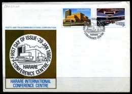 E04904)Simbabwe FDC 338/9 - Zimbabwe (1980-...)