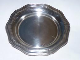 ART DE LA TABLE ANCIEN DESSOUS DE CARAFE METAL ARGENTE SAINT MEDARD BE PROPRE - Silverware