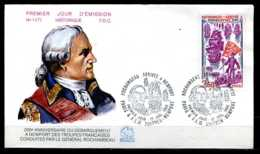 E06450)Frankreich FDC 2214 - FDC