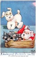 P.A.M. Il Ne Faut Pas Voir Tout En Noir (chiens) - Otros Ilustradores
