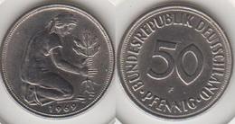 Germania 50 Pfennig 1969 F KM#109.1 - Used - [ 7] 1949-… : RFA - Rep. Fed. Tedesca