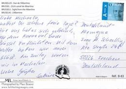 Belgien 1 Europe A Priority Luftpost König Li. Geschnitten TGST - Briefe U. Dokumente