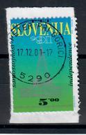 SLOVENIA  1991 - INDIPENDENZA DELLA SLOVENIA  - USATO SU FRAMMENTO - Slovenia