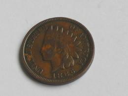 RARE !!!!   1 Cent 1886  Indian Head - Etats-unis - USA  ***** EN ACHAT IMMEDIAT  ***** - Federal Issues