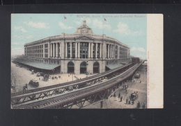 USA PPC Boston South Station 1907 - Boston