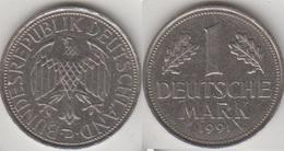 Germania 1 Mark 1991 D KM#110 - Used - [ 7] 1949-… : FRG - Fed. Rep. Germany